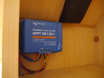 Régulateur MPPT du panneau solaire